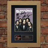 BLOSSOMS Band Signed Autograph Mounted Photo RE-PRINT A4 647