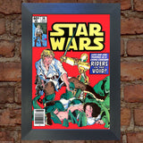 STAR WARS Comic Cover 38th Edition Reproduction Rare Vintage Wall Art Print #16
