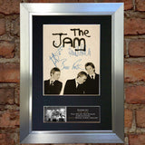 THE JAM #2 (VERY RARE) Quality Autograph Mounted Signed Photo Repro Print A4 709