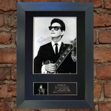 ROY ORBISON Quality Autograph Mounted Reproduction Signed Photo PRINT A4 378