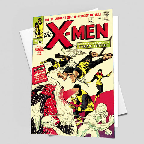 X MEN Comic Cover 1st Edition Cover Reproduction Vintage Wall Art Print #32