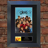GLEE Mounted Signed Photo Reproduction Autograph Print A4 118