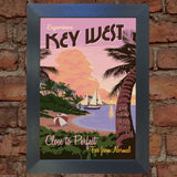 FLORIDA VINTAGE RETRO TRAVEL Poster Nostalgic Home Art Print Wall Decor #45