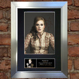 ADELE Signed Mounted Signed Photo Reproduction Autograph Print A4 251