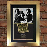 THE DOORS Mounted Signed Photo Reproduction Autograph Print A4 204