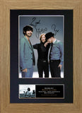 Biffy Clyro Signed Autograph Quality Mounted Photo Repro A4 Print 126