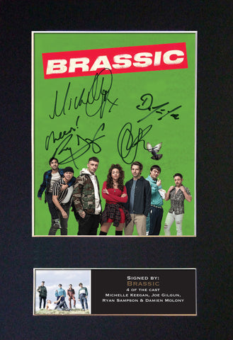 BRASSIC TV Show Quality Autograph Mounted Signed Photo RePrint Poster A4 #814