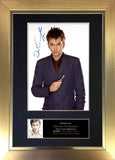 David Tennant Signed Autograph Quality Mounted Photo Repro A4 Print 335