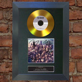 #109 Foo Fighters - Sonic Highways GOLD DISC Cd Album Signed Autograph Mounted Print