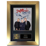 GENESIS 2020 Comeback tour Signed Mounted Quality Printed Photo Autograph #848