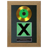 #112 Ed Sheeran - Multiply GOLD DISC Cd Album Signed Autograph Mounted Photo Print