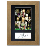 JUDD TRUMP Signed Pre Printed Autograph Quality Photo Gift For a Snooker Fan 847