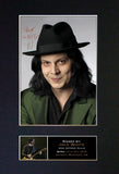 JACK WHITE White Stripes Mounted Signed Photo Reproduction Autograph Print 329