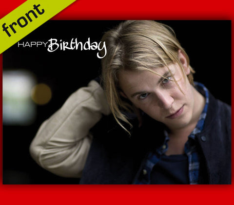 TOM ODELL Autograph BIRTHDAY Card Reproduction Including Envelope A5 210x148mm