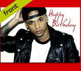 ASTON MERRYGOLD Autograph BIRTHDAY Card Reproduction Including Envelope A5 Size