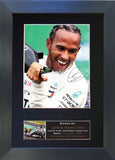 Lewis Hamilton Gift Signed A4 Printed Autograph #843