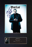 MEAT LOAF Signed Autograph Mounted Photo Repro A4 Print 507