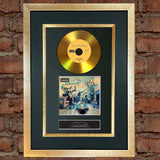 #114 Oasis - Definitely Maybe GOLD DISC Cd Album Signed Autograph Mounted Print