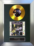 #146 Prince - Purple Rain GOLD DISC Album Signed Autograph Mounted Repro
