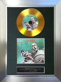 #141 Queen - News of the World GOLD DISC Album Signed Autograph Mounted Repro