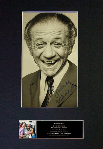 SID JAMES Carry On Signed Autograph Mounted Photo Repro A4 Print 467