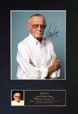 STAN LEE Comic book writer Autograph Mounted Signed Photo Reproduction Print 770