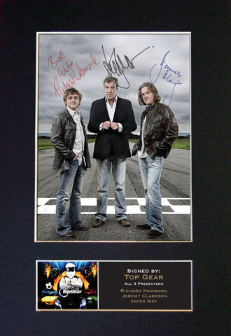 The Stig Signed Autograph Quality Mounted Photo Repro A4 Print 297