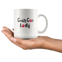Crazy Cat Lady: Funny Cat Lover Mug