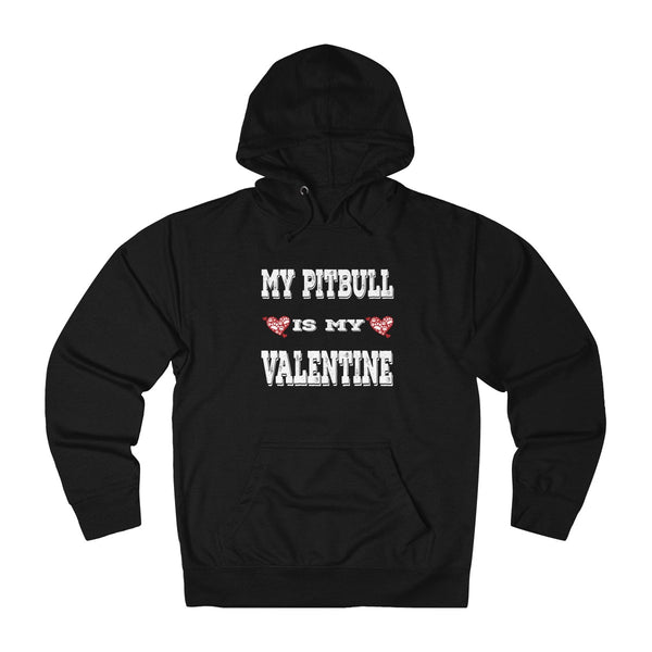 My Pitbull is My Valentine Hoodie: Cute V-DAY gift for dog lovers