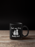 Cute Cat And Dog Mom Coffee Mug: Mother's Day Gift For animal Lovers