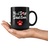 Best Dog Dad Ever Mug With Paw
