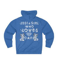 Just a Girl who Loves Cats: Cute Hoodie For Women