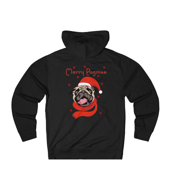 Merry PugMas: Funny Christmas Hoodie for dog lovers
