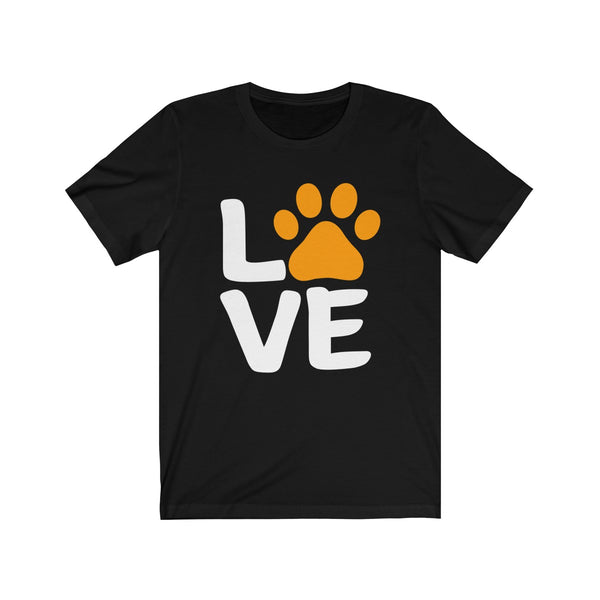 Love Sign Halloween T-Shirt for Dog Lovers