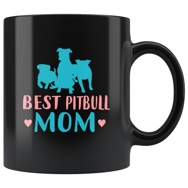 Best Pit bull Mom Coffee Mug: Cute Gift For dog lovers