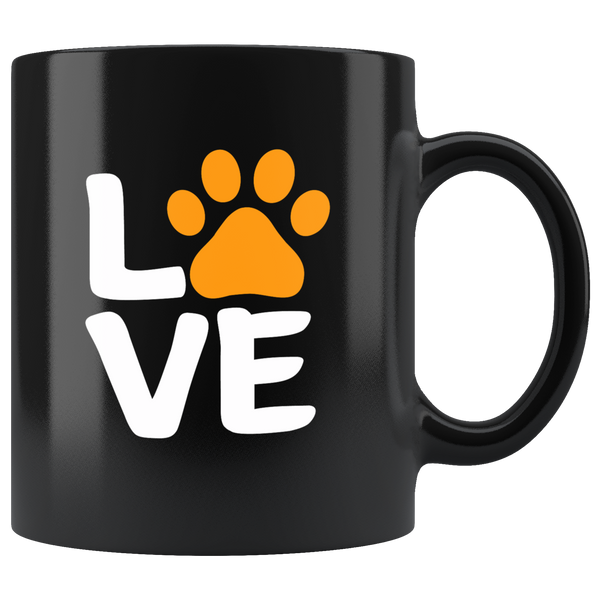 Love Sign Halloween Mug for Dog Lovers