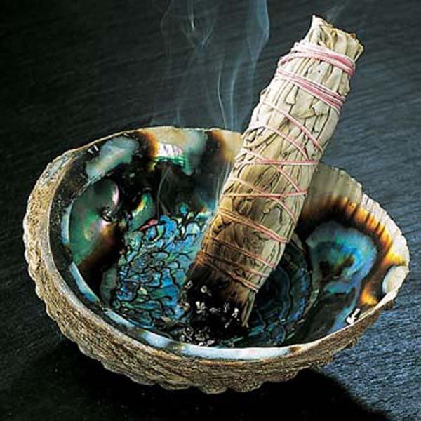Smudging negative energy and raising vibrations