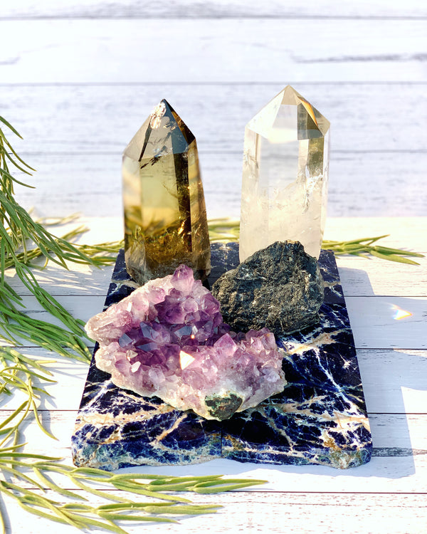 2020 Intention Setting Crystals