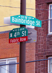 Fabric Row in Philadelphia