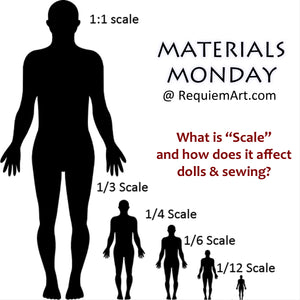 Materials Monday: Scale in dolls and doll clothing