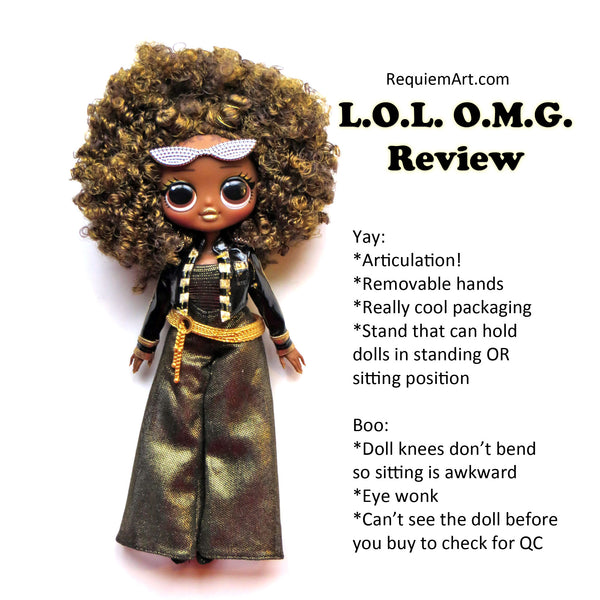 LOL OMG doll review