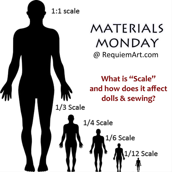 Scale in dolls and doll clothes