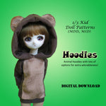 Animal Hoodie Costume Cuties