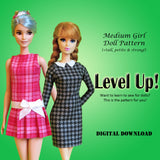 Medium Girl Level Up!