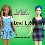 Free Pattern: Curvy Level Up!