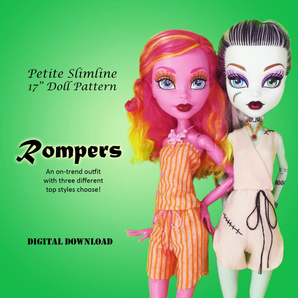 "17"" Rompers & Jumpers"
