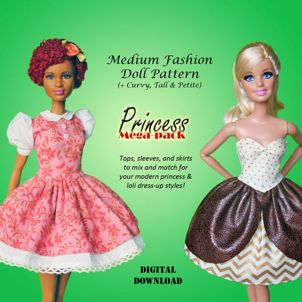 Princess Dresses Mix 'n Match Mega Pack
