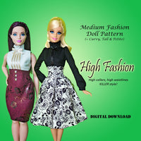 High Fashion Blouses & Skirts