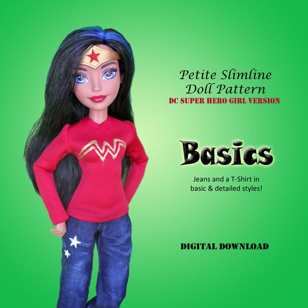 Super Hero Girl Basics: Jeans & T-Shirt