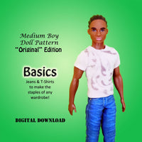 'Original' Basics: Jeans & T-Shirt